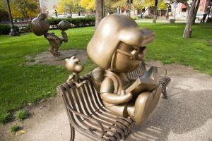 Peanuts Statues St. Paul